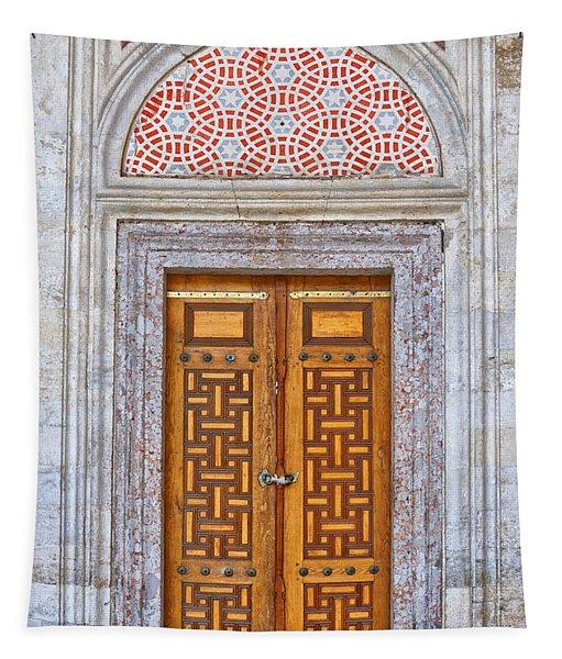 Mosque Doors 04 Tapestry