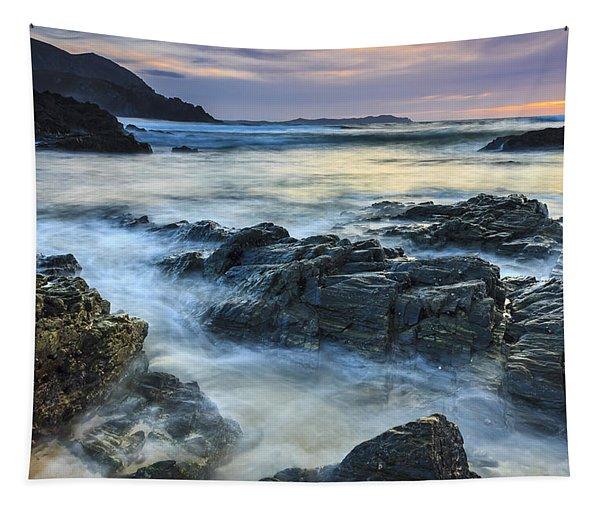Mourillar Beach Galicia Spain Tapestry