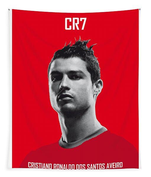 My Ronaldo Soccer Legend Poster Tapestry
