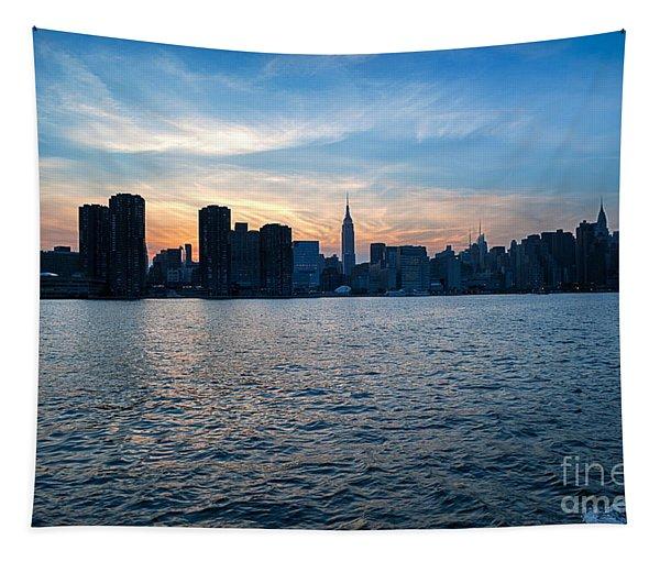 New York New York Tapestry