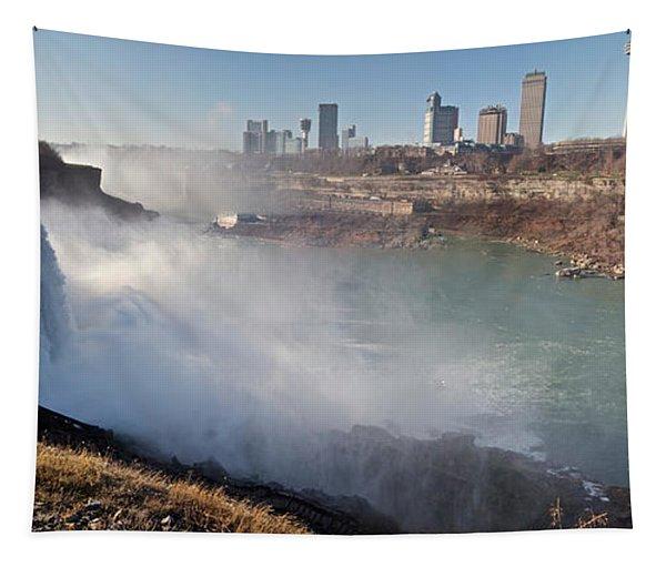 Niagara Falls Panorama Tapestry
