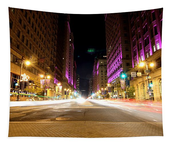 Night Life Tapestry