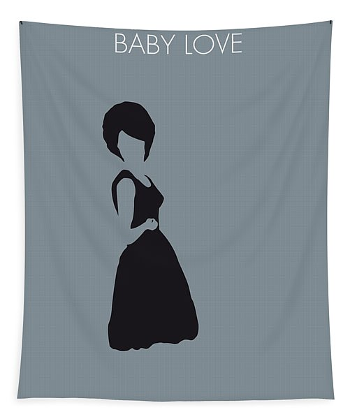 No057 My Diana Ross Minimal Music Poster Tapestry