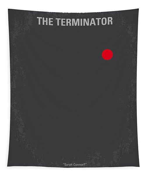 No199 My Terminator Minimal Movie Poster Tapestry