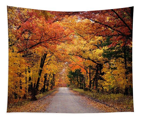 October Road Tapestry