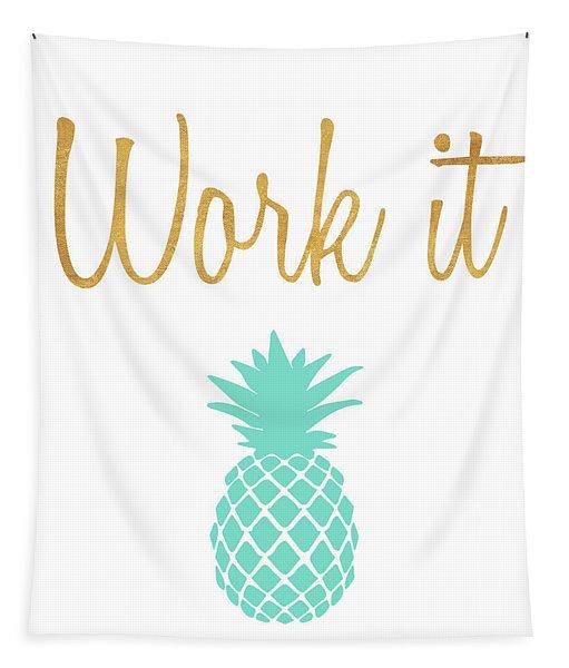 Office Pop II Tapestry