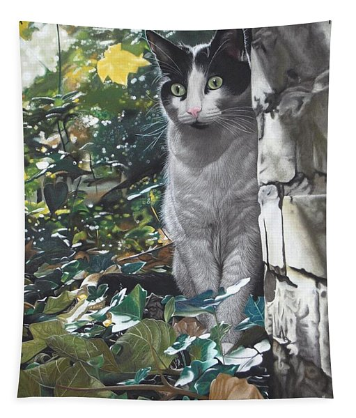 On The Prowl Tapestry