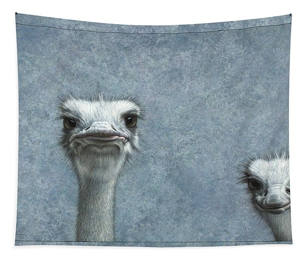 Ostriches Tapestry