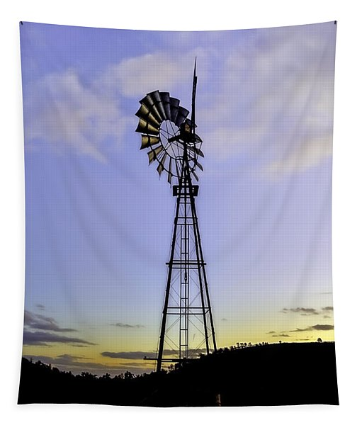 Outback Windmill Tapestry