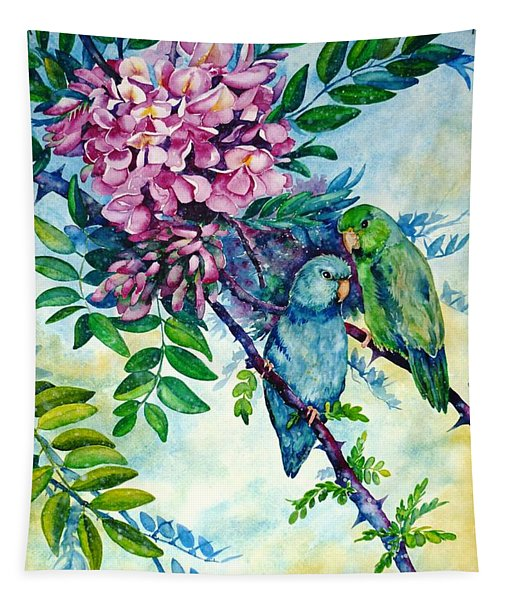 Pacific Parrotlets Tapestry