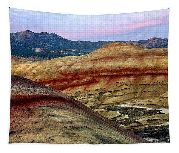 Painted Hills  Tapestry