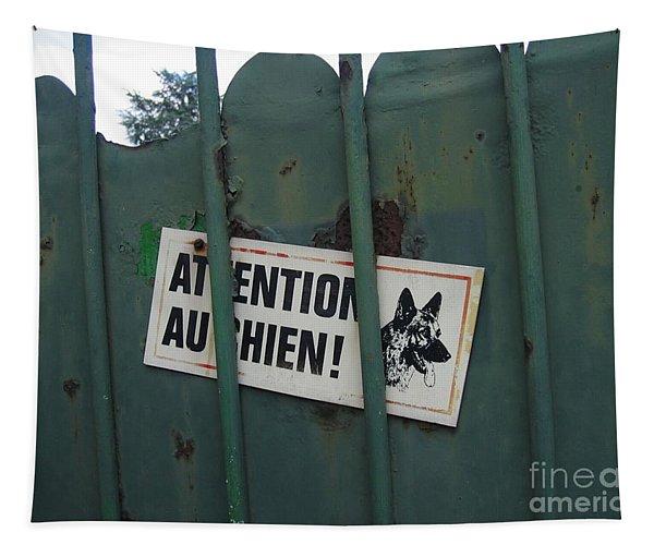 Paris - Farm Dog Tapestry