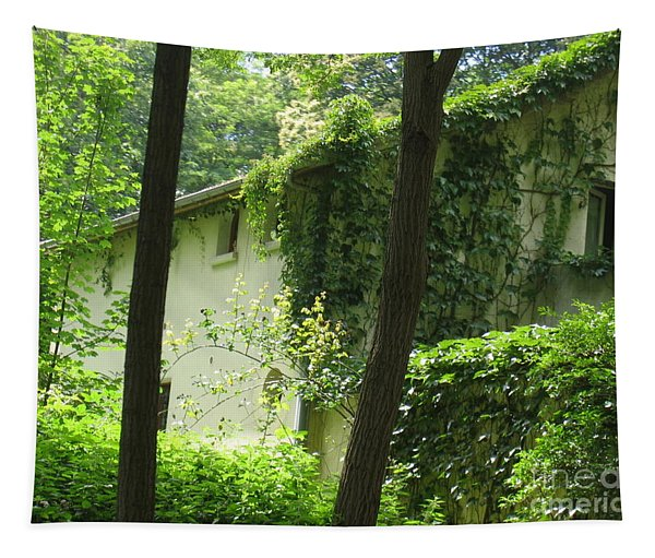 Paris - Green House Tapestry