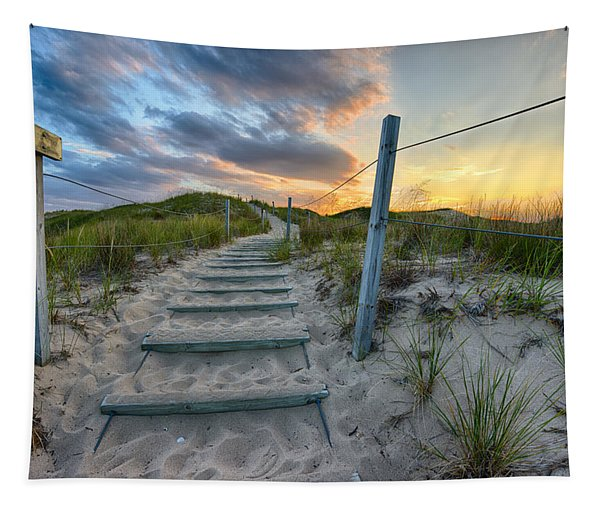 Path Over The Dunes Tapestry