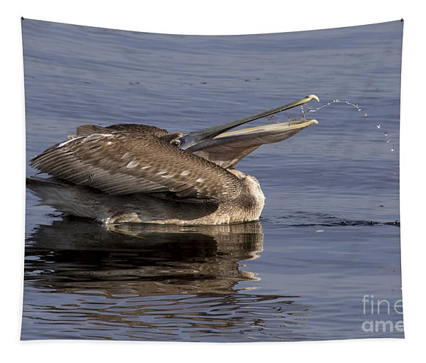 Pelican Fountain  Tapestry