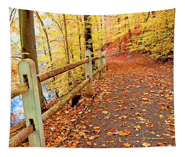 Pennypack Trail Philadelphia Fall Tapestry