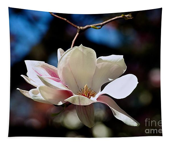Perfect Bloom Magnolia Tapestry