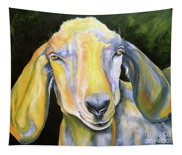 Prize Nubian Goat Tapestry