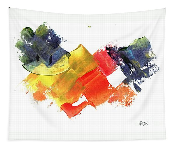 Quack Quack Abstract Duck Tapestry