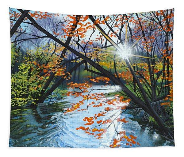 River Of Joy Tapestry