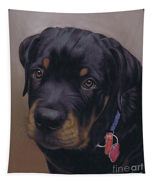 Rottweiler Dog Tapestry