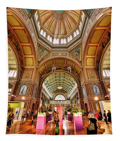 Royal Exhibition Building II Tapestry