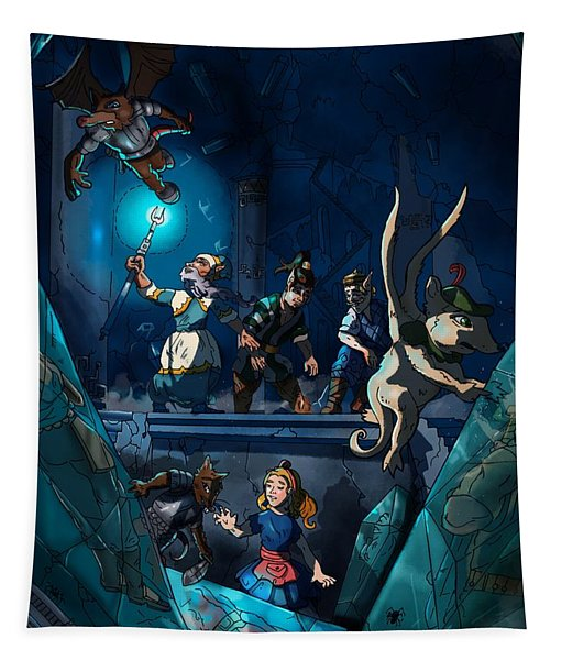 Sacred Burial Chamber Tapestry