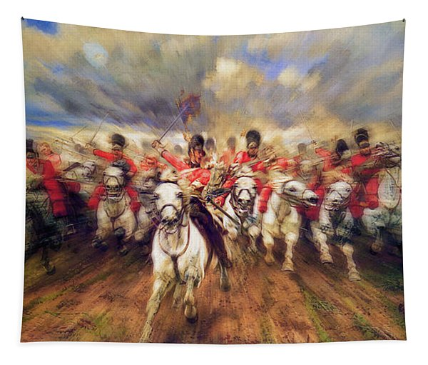 Scotland Forever During The Napoleonic Wars Tapestry