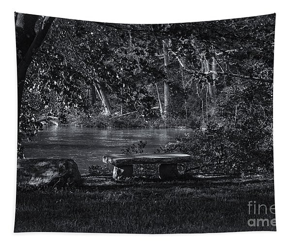 Sit And Ponder Tapestry