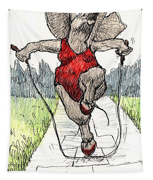 Skipping Rope Tapestry