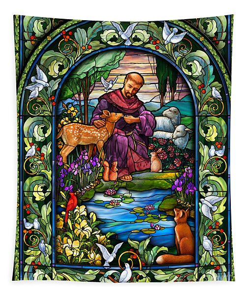 St. Francis Of Assisi Tapestry