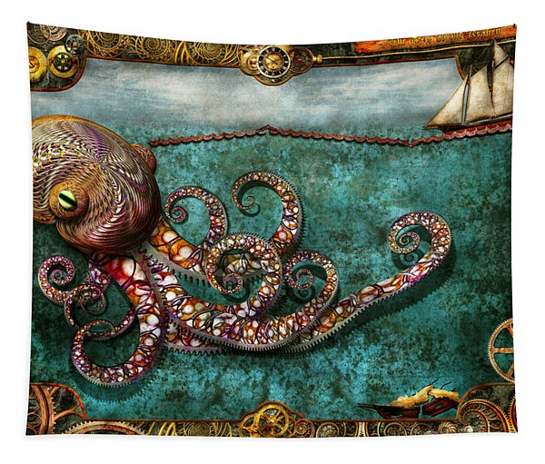 Steampunk - The Tale Of The Kraken Tapestry