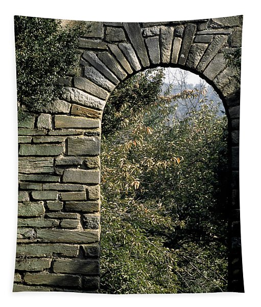 Stone Arch In Autumn Tapestry