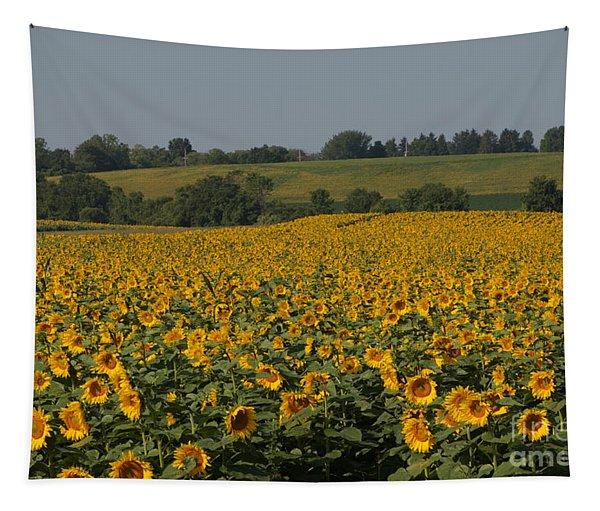 Sun Flower Sea Tapestry