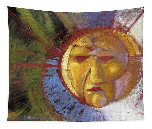 Sun Mask Tapestry