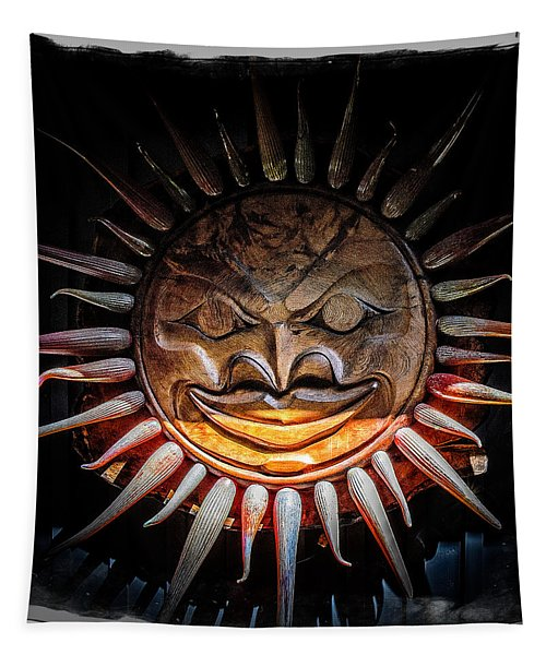 Sun Mask Tapestry