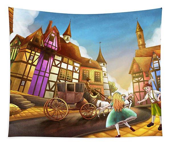 The Bavarian Village Tapestry