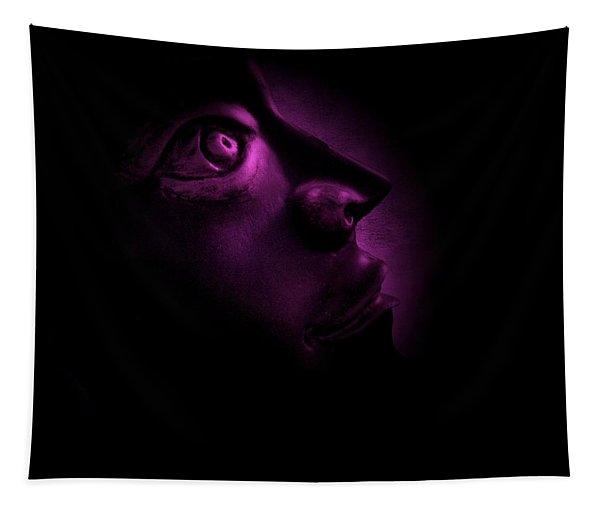 The Darkest Hour - Magenta Tapestry