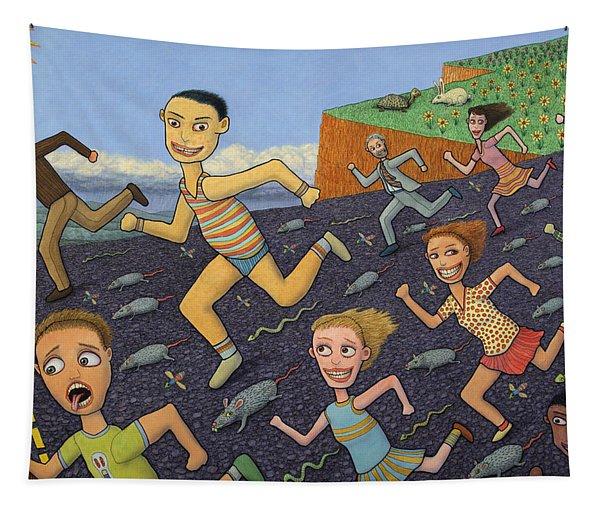 The Finish Line Tapestry