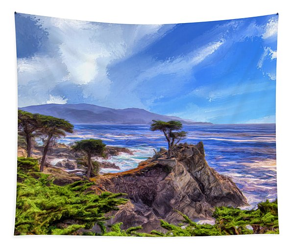 The Lone Cypress Tapestry