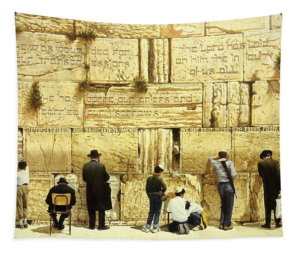 The Western Wall  Jerusalem Tapestry