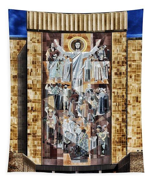 Touchdown Jesus Tapestry
