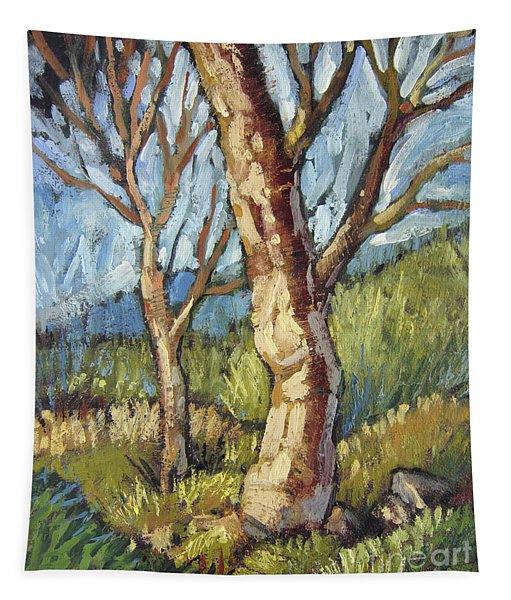 Trees In Spring Tapestry