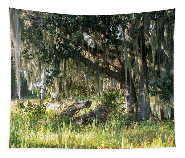 Under The Live Oak Tree Tapestry