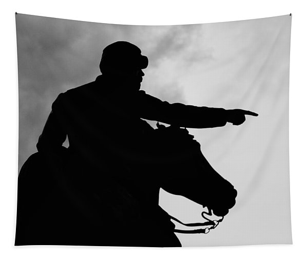 Union Silhouette  Tapestry