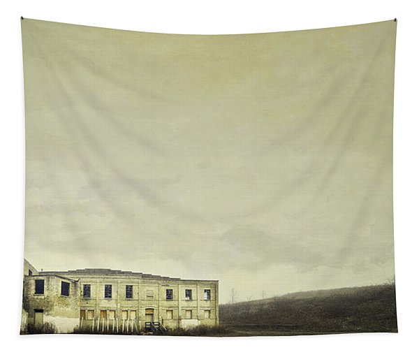 Urban Ruins Tapestry
