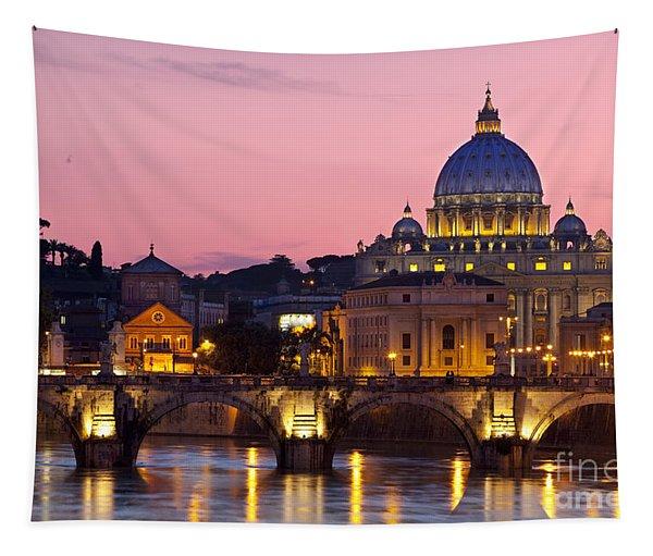 Vatican Twilight Tapestry