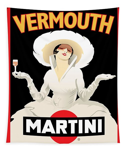 Vermouth Martini Tapestry