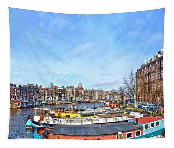 Waalseilandgracht Amsterdam Tapestry