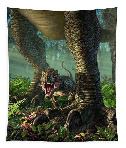 Wee Rex Tapestry
